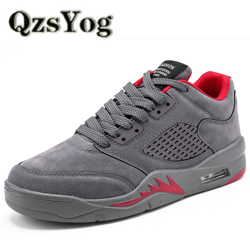 QzsYog Men Running Shoes Air Breathable Outdoor Sport Sneakers Athletic Walking Jogging Shoes Superstar Zapatillas Hombre Red