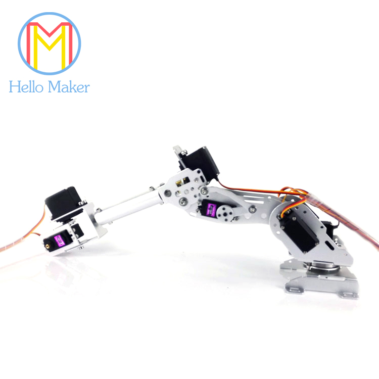 New Arrival Mechanical Arm A4 7 Axis Rotating Smart Robot High Torque Servo For DIY design