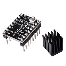 TMC2100 Home Improvement Stepper Mainboard Parts Heat Sink 3D Printer Hybrid Accessories Tool Controller Supplies Motor Driver(China)