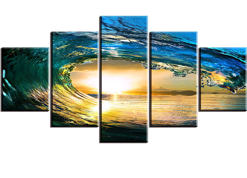 Online Get Cheap Wall Pictures Sea Sunset -Aliexpress.com ...