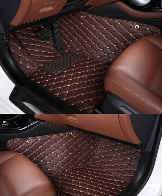 High quality! Custom special car carpets for Ford Explorer 7seats 2017-2011 waterproof non-slip car internal mats,Free shipping