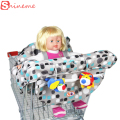 2017 popular fashion high quanlity baby shopping cart cover anti dirty baby safety seats striped nylon for outdoor kids chair