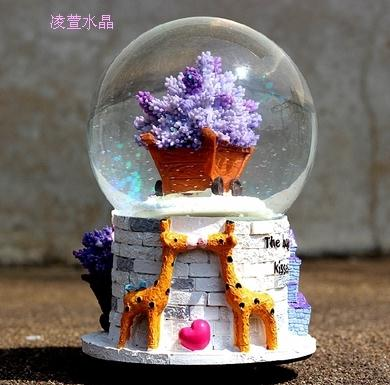 Hot Selling Crystal Ball The Music Box Creative Birthday Gift Girl Girlfriends Children Kids Graduation Gifts Qy557 In Boxes From Home Garden On