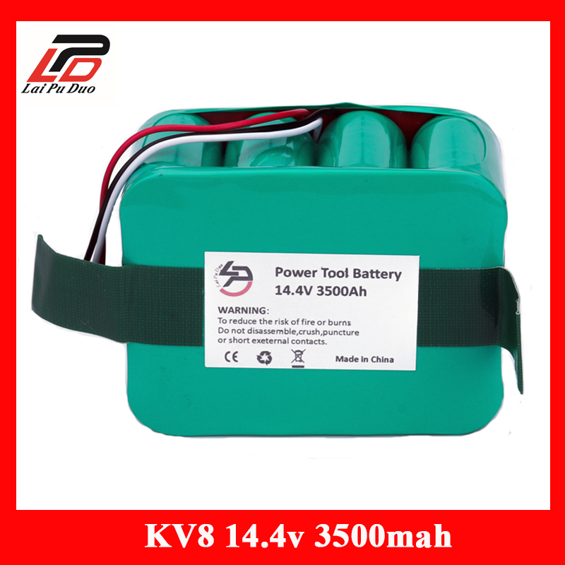 14.4V 3500mAh Ni-MH Vacuum Cleaner battery for KV8 Cleanna XR210 XR510 series XR210A XR210B XR210C XR510A XR510B XR510C XR510D 12v 3 0ah 3000mah ni mh battery for ryobi b 1230h b 1222h b 1220f2 b 1203f2 1400652 1400652b 1400670 cordless