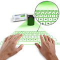 New Virtual Laser Projected USB Bluetooth Keyboard & Touchpad For iPhone Samsung iPad Mac Blackberry Android Green/ Red Light