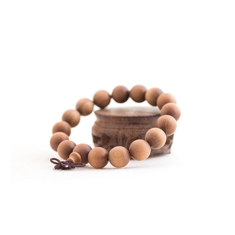 Perles de bois de prière mascotte de bois de santal de mode inde myplaie bracelet bouddha bracelet vintage bijoux accessoires livraison gratuite