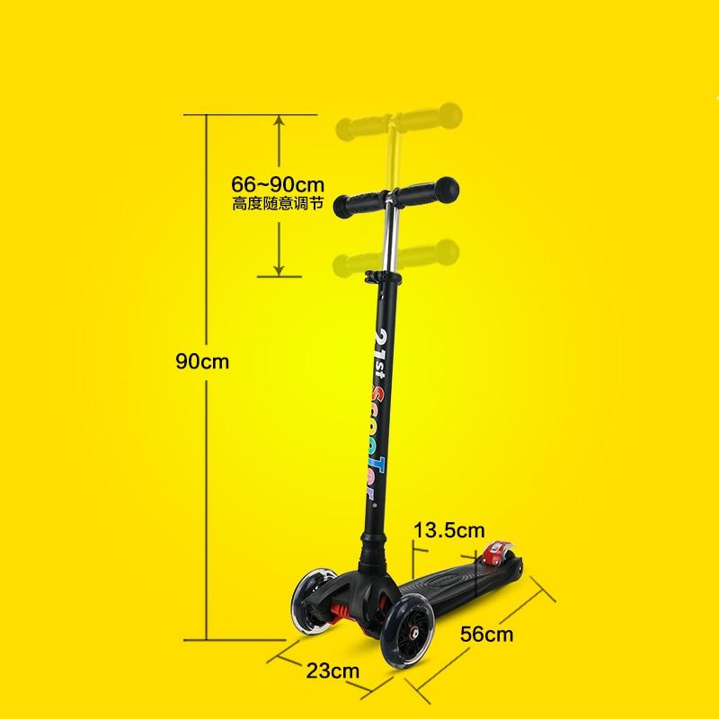 Bicicleta Infantil 21-ე სკუტერი Flash Wheel - გარე გართობა და სპორტი - ფოტო 5