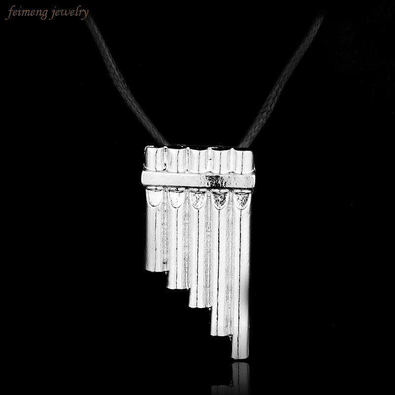 Drop Shipping Fashion Movie Jewelry Peter Pan Flute Necklace For Men & Women