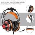 G6 profissional jogo fones de ouvido com microfone gaming headset estéreo de 3.5mm auriculares incandescência do DIODO EMISSOR de Luz USB para Computador PC