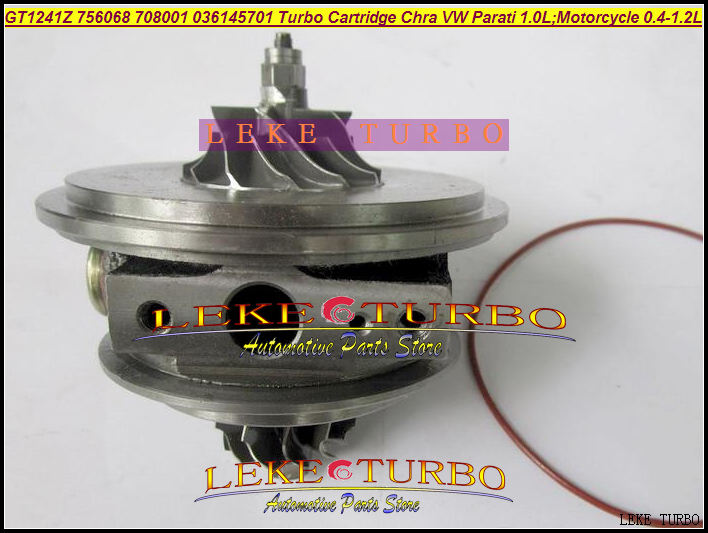 Turbo Cartridge CHRA GT1241Z 756068-5001S 756068 036145701 Turbocharger For VW Golf Parati 1.0L EA111 112HP motorcycle 0.4L-1.2L yb1302001 car turbo sound whistling turbocharger silver size l