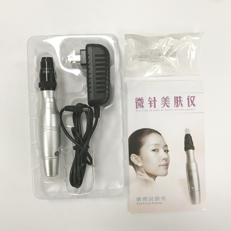 Silver Micro Needles Machine  Professional Permanent Makeup machine Pen 35000r import permanent makeup machine best tattoo makeup eyebrow lips machine pen