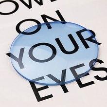 1.61 Tinted Asférica óculos de Lentes de Prescrição de Lentes Ópticas para Óculos De Sol De Lentes de Visão Única Lente Sunwear