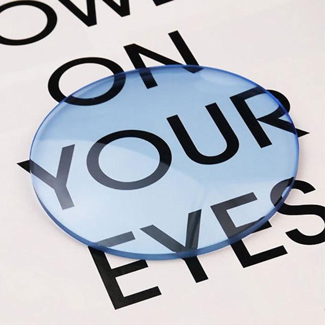 1.61 Tinted Aspheric Prescription Lens Eye glasses Optical Lenses for Sunglasses Lenses Single Vision Sunwear Lens