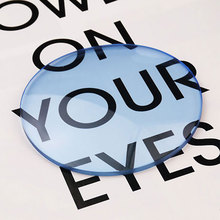 Lentille asphérique teinte 1.61, lentilles de Prescription, lentilles optiques, pour lunettes de soleil, lentille simple Vision
