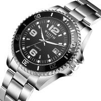 Luxury Reginald Watch Male Date Stainless Steel Clock Men Sport Quartz Watches Mens Business Type Wristwatch