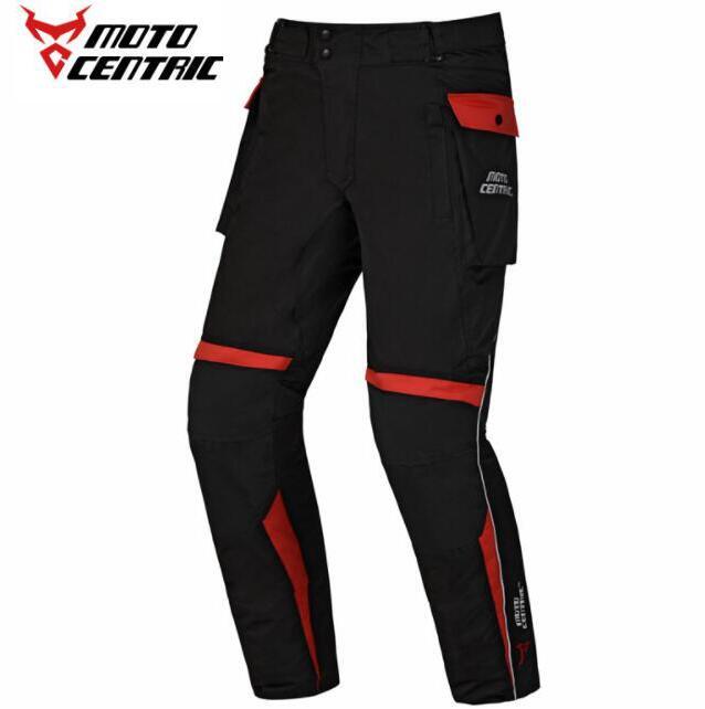 MOTOCENTRIQUE Pantalon de Moto Moto Motocross Pantalon Réfléchissant Imperméable D'équitation Hors Route Pantalon Moto Genou Protection Pantalon
