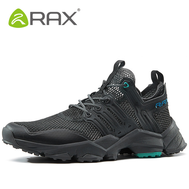 RAX Men Hiking Shoes Outdoor Athletic Tactical Boots Woman Brand Camping Walking Shoes Breathable Trekking Sneaker Mens Sneakers rax camping