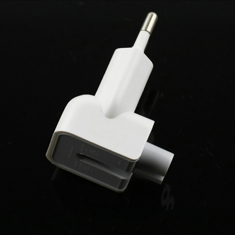 Image 5 - Wholesale 100PCS/Lot Duckhead AC Power Adapter For Apple iPad iPhone Charger MacBook Air European Plug Standard Socket KONSMART-in Phone Adapters & Converters from Cellphones & Telecommunications