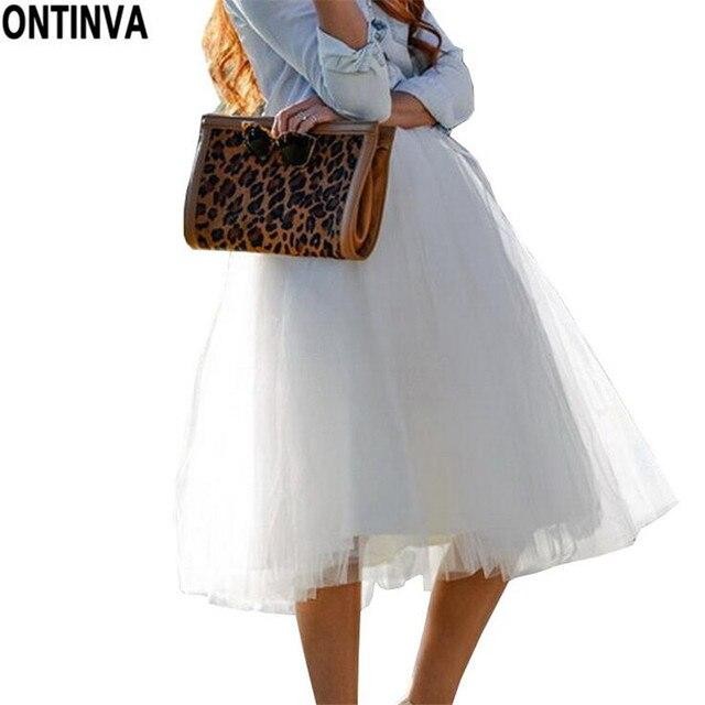 6c93d90bc0850b Tüll Prinzessin Rock Puff Damen 2019 Lolita Jupe Weiß Mesh Rock Ballett  Mädchen 5XL Plus Größe