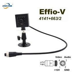 HQCAM Effio-Sony CCD 800TVL WDR 0.0003Lux Night vision 10 sztuk 940nm IR LED bezpieczeństwa kryty Mini kamera CCD IR kamera samochodowa
