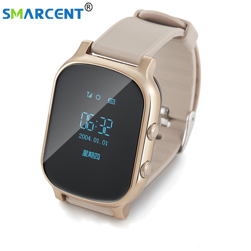 2018 Smart gps watch T58 GPS child  baby phone watch kids Children's gps sos personal tracker locator smart watch Watches