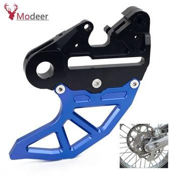 Motorcycle CNC Rear Brake Disc Guard Protector For Husqvarna TE300i TE310i TE 300 310 i 2019 Brakes Caliper Support
