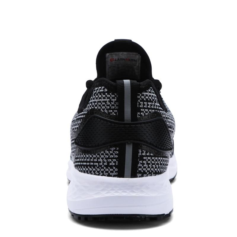 LARNMERN 남성 안전화 강철 작업복 초경량 통기성 - 남성용 신발 - 사진 5