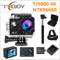 Topjoy TJ5000 NTK96660 4K Action Camera 2'' 170D 16M 1080P Mini Cam Nightshot Voice Prompt 30m Waterproof Helmet Sport Camera