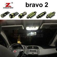 10 шт. х безотказный Автомобильный светодиодный светильник для внутреннего чтения, купольный светильник для Fiat bravo 2 II MK2(2007