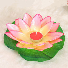 """Set of 10 """"Lotus"""" Water Floating Candle Holders"""