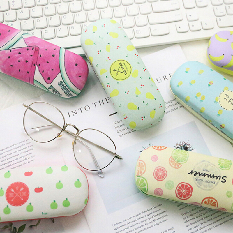 Sunglasses Pouch Case Fruite Portable Cute Women For And