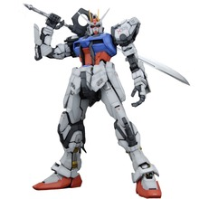 Brand Daban PG 1/60 GAT-X105 Launcher STRIKE GUNDAM with Shield Assemble Model Fight boys Robot ABS Action Figure juguetes