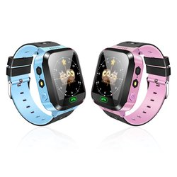 Y03 Children Anti-Lost GPS Smart Watch Kids SOS Call Location Tracker Wristwatch Baby Safe Guard English Russian Languages