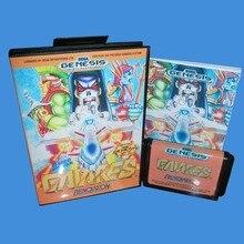 Gaiares с коробкой и руководство 16bit MD карточная игра для сега мега драйв для бытие