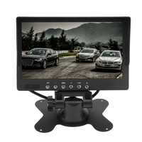 7 Inch Car Monitor V1 V2 Dual Way Rear View Camera Monitor LCD Display VCD