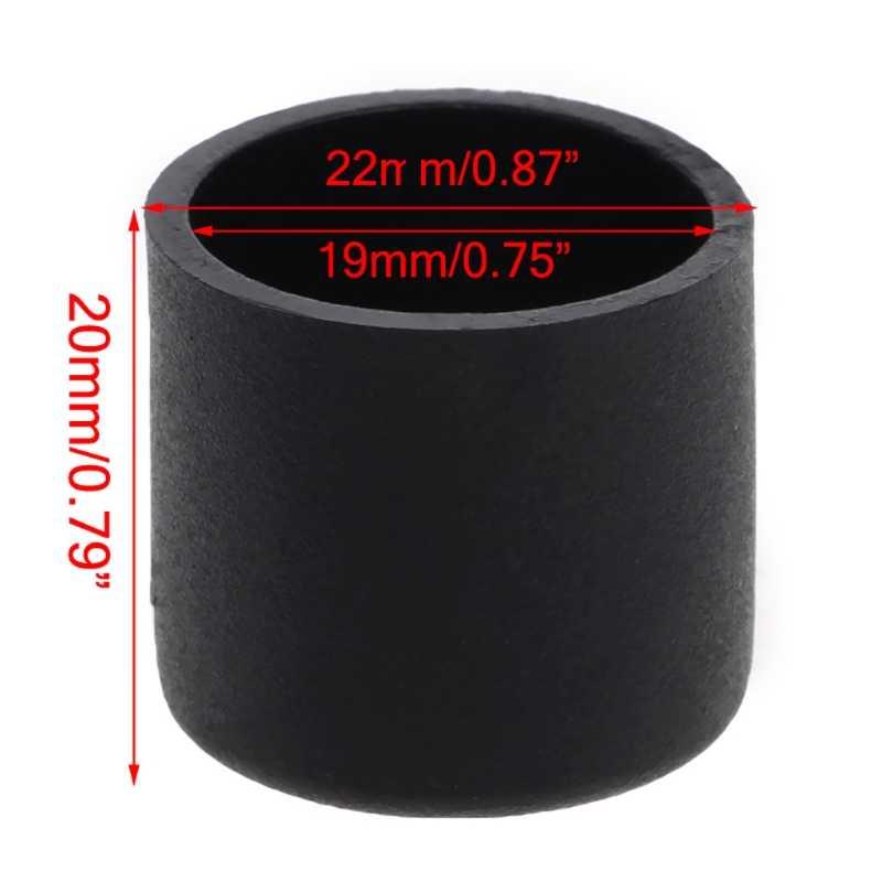 """4 шт./компл. стул Ferrule 19 мм 3/4 """"дно протектор угловые кронштейны мебель стол ноги ногу конец для дома"""