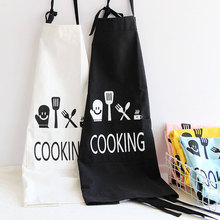 1 Ps Printed Unisex Cooking Dining Room Kitchen BBQ Restaurant Cleaning Pocket Waitress Housework Japanese Style Coverall Aprons