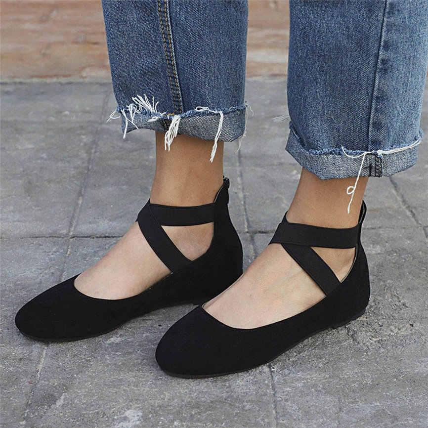 รองเท้าสตรีรองเท้าสุภาพสตรีฤดูร้อนต่ำส้นแบน Flip Flops เดี่ยว Beach รองเท้า Point Toe สบายสไตล์แฟชั่นสำหรับสุภาพสตรีหญิง