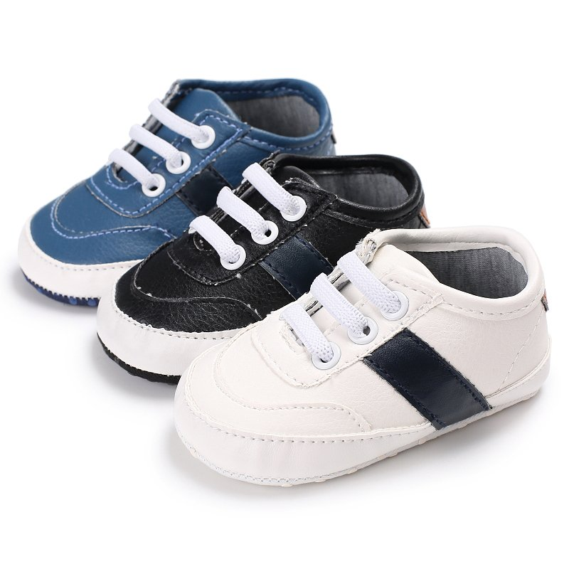 Fashion Soft Bottom Newborn Babies Shoes PU Leather Prewalkers Boots Baby First Walkers Baby Moccasin