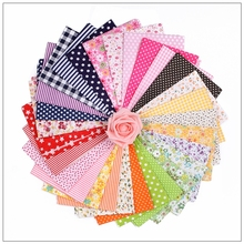 Cotton Fabric Telas Patchwork Charm Quarter Bundles For Sewing DIY Crafts Pillow50*50cm 34pcs/lot