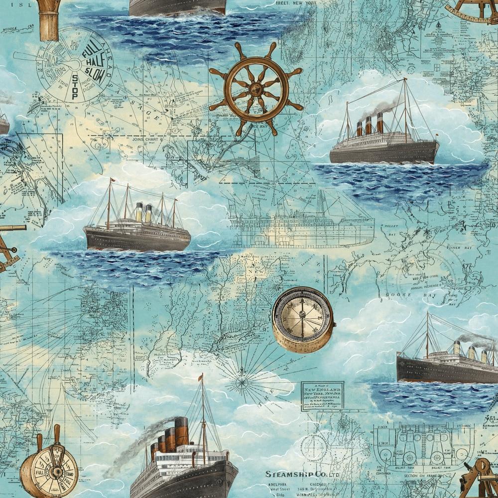 Peintures Murales De Papier Peint Enfants Chambre Pirates De Voile