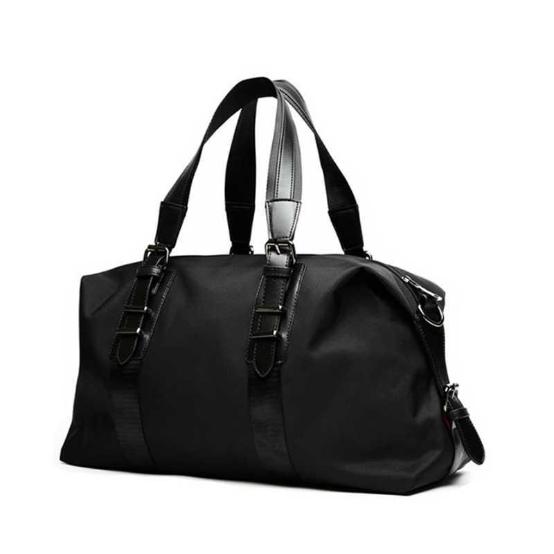 SIHIRLI UNION Marka Tasarım Oxford Çanta Erkekler Için Büyük Kapasiteli Taşınabilir omuz çantaları erkek Moda Seyahat Çantaları Paketi