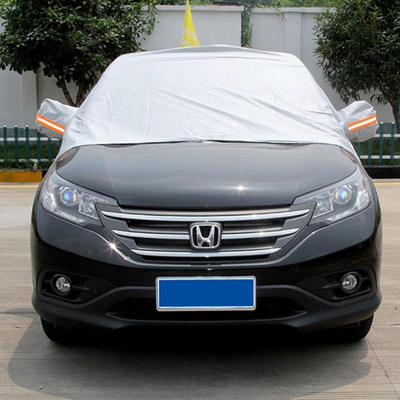 Autó fél burkolatok Beltéri kültéri fényvisszaverő autó burkolat Napfény UV hó por esőálló fülvédő