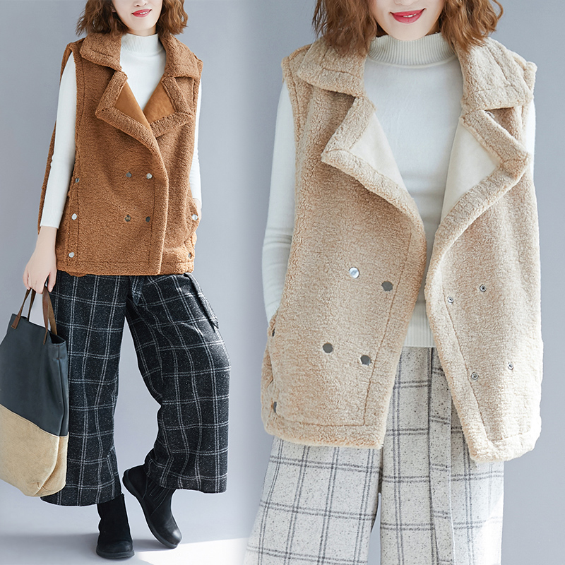 Femmes Faux Arrivée 2018 Gilet Fausse Chaud Manteau Mumuzi En Feminino Peau Hiver Mode Nouvelle Marque De Colete D'hiver Mouton Fourrure OpWWq8