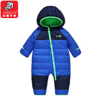 NEW Winter Children S Toddle Down Jacket Jumpsuit Newborn Baby Rompers Thicker Baby Overalls Romper One