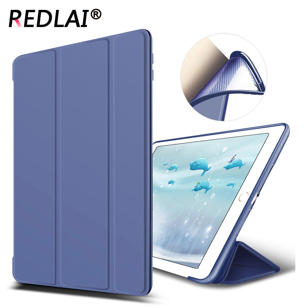 Luxury PU Leather Stand Flip Smart Cover case for Apple iPad Pro 10.5 inch with TPU Soft Back cover for apple ipad air 2 pu leather case luxury silk pattern stand smart cover