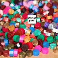 Antique Granule Sealing Wax Grains For Envelope Wedding Invitation Logo Vintage Sealing Stamp Wax Beads 30 Color 500g One Bag