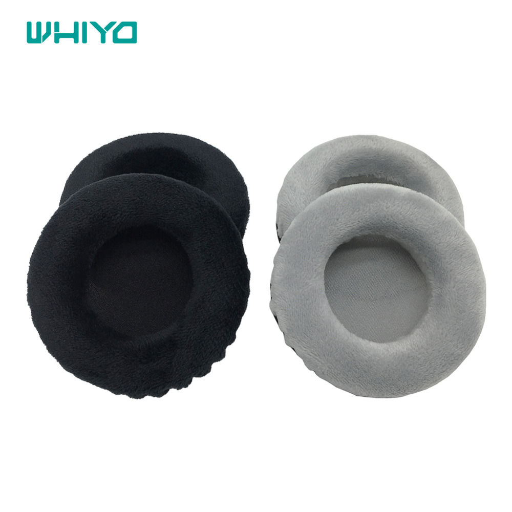 Whiyo 1 Pair Of Velvet Leather Ear Pads Cushion Cover Earpads Replacement For Philips SHM1900 SHP1900 SHP SHM 1900 Headphones