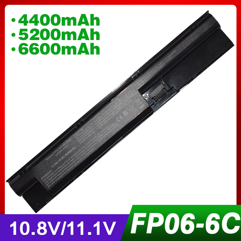 US $14 34 18% OFF|4400mAh laptop battery for HP ProBook 450 470 440 G0 455  G1 707616 242 FP06 H6L26AA H6L26UT-in Laptop Batteries from Computer &