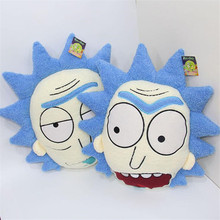 2 Styles Kawaii High Quality 35 CM New Rick And Morty Plush Pillow Cushion Doll Toy
